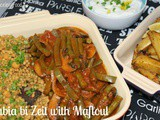 Lubia bi Zeit with Maftoul & Spiced Roast Potatoes - Suma Blogger's Network
