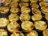 Mini Courgette and Potato Quiches
