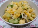 Pineapple, Cucumber and Sweetcorn Salsa