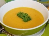 Spiced Parsnip and Carrot Soup