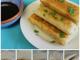 Spicy Paneer & Vegetable Spring Rolls