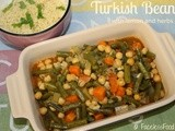 Turkish Beans with Lemon & Herbs