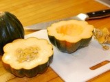 Acorn Squash Stuffed with Moroccan Candy Cap Filling
