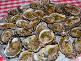 Grilled Oysters with Chipotle Chermoula
