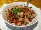 Hot Summer Night Panzanella