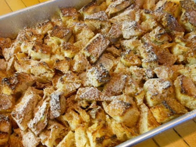Southern Vegetable Breadpudding: More than just a side