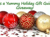 Yummy Holiday Gift Guide Giveaway