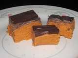 Butterfinger made from Candy Corn