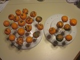 Cake Pops - Carrot, Vanilla, and Coconut Cream