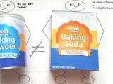 Baking Soda and Baking Powder are not twins|There is indeed a difference between Baking Soda and Baking Powder