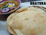 Bhatura Recipe|Soft Spongy Fluffy Bhature recipe