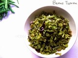 Green Beans Thoran Kerala style |Beans Poriyal|Beans stir fry with ground coconut |Onam Sadya Special