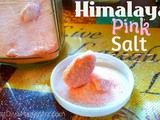 Himalyan Pink salt - the healthy salt for making homemade foods for baby