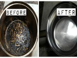 How to clean burnt pan or pot easily |Useful cleaning Hack