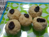 Instant Almond Ladoo (3 min)|Gluten free treat|Healthy sweets