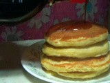 Light and fluffy Pancake from scratch