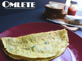 Simple Indian Omelet recipe |omellete