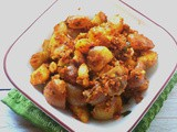 Spicy Peanut potato fry