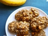 3-Ingredient Healthy Banana Oatmeal  Cookies