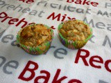 Apple Date Walnut Muffins and Mini Loaves