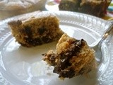 Banana Chocolate Chunk Cake (And an Enjoy Life Product Review!)