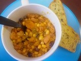 Bean and Butternut Squash Chili