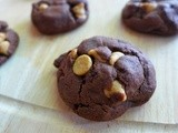 Chocolate Peanut Butter Peanut Butter Chip Cookies