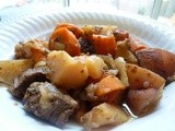 Crock Pot Apple Cider Beef Stew