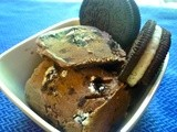 Homemade Chocolate Oreo Ice Cream