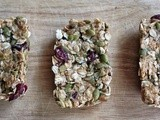 Homemade, Healthy Peanut Butter Oat Granola Bars
