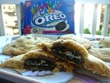 Jumbo Oreo-Stuffed Chocolate Chip Cookies