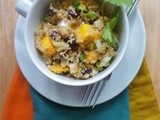 Mango Black Bean Quinoa Salad