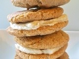 Maple Snickerdoodle Whoopie Pies with Maple Cinnamon Buttercream Filling