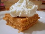 Pumpkin Pudding Graham Cracker  Cake