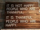 Putting Things in Perspective: Being Thankful