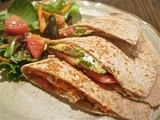 Smoked Salmon and Goat Cheese Quesadillas
