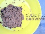 Crumble Topped Brownies