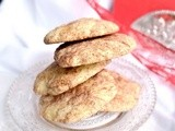 Do you like eggnog? Eggnog Snickerdoodle Cookies