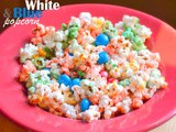 Red, White and Blue(ish) Kettle Corn