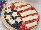4th of July Cheesecake Pie Recipe
