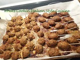 Appetizer Meatballs and Homemade Sausage Skewer Recipe