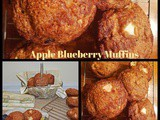 Apple Blueberry Cinnamon Muffins