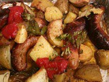 Baked Sausage Peppers and Potato Italian Classic Recipe
