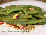 Balsamic Green Bean Pistachio Salad Recipe