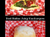 Best Italian Juicy Hamburgers