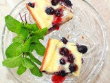 Blueberry Cheesecake Sour Cream Bars