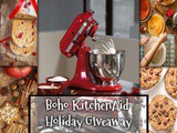Boho KitchenAid Holiday Giveaway 2018 and Cranberry Zucchini Muffins
