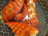 Broiled Lobster with Garlic Butter