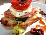 Bruschetta Antipasto Appetizer