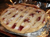 Grandma's Strawberry Rhubarb Pie Recipe